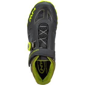 Northwave Spider Plus 2 Chaussures Homme, black/yellow fluo